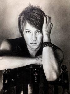 滝沢秀明さんの鉛筆画